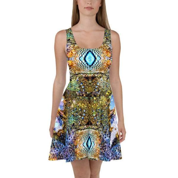 Iguana Skater Dress - A Circus of Light