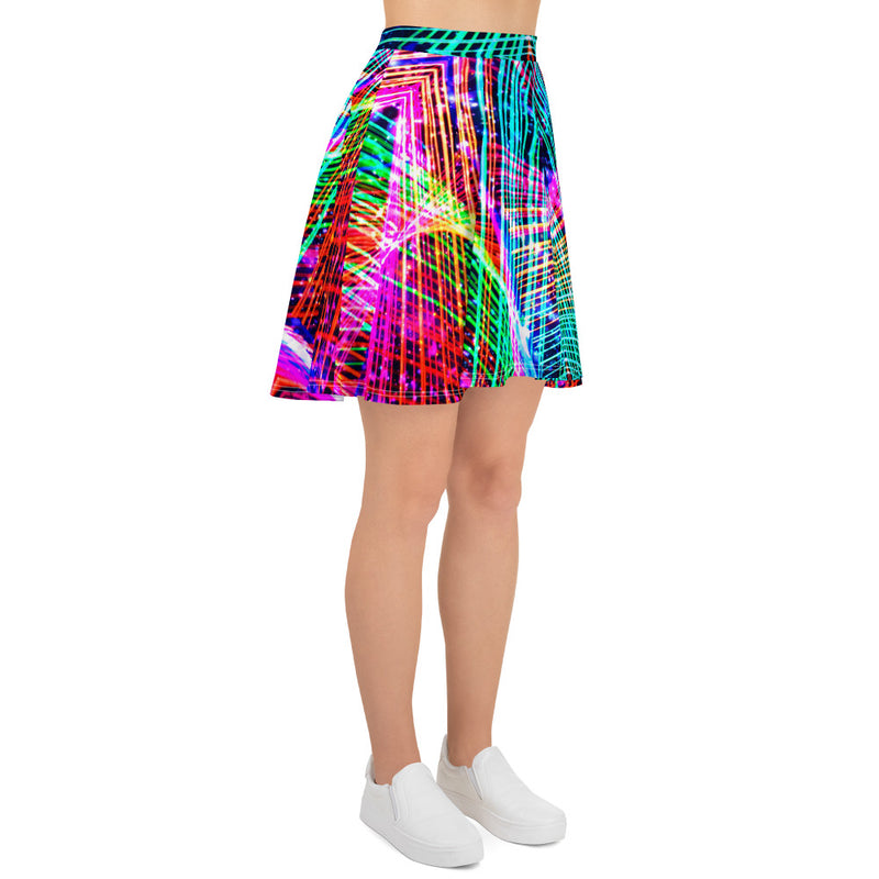 Cadillac Rainbows Skater Skirt Mexico 2020 - A Circus of Light