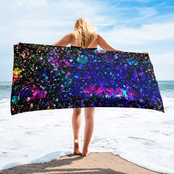 Mexico Beach Towel - A Circus of Light