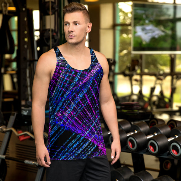 Thin Thin Bubble Men's Tank Top Mexico 2020 - A Circus of Light