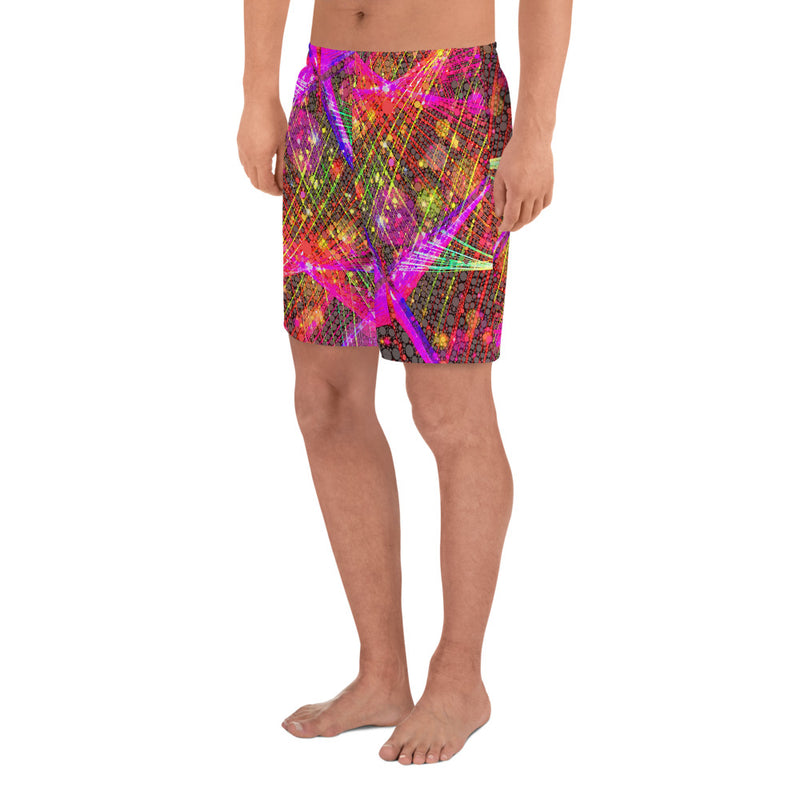 Clouds and Sunken Caves Men's Athletic Long Shorts Mexico 2020 - A Circus of Light