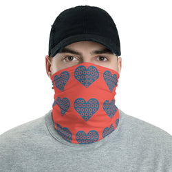 Fishman Donuts Heart 1.0 Colors neck gaiter headband - A Circus of Light
