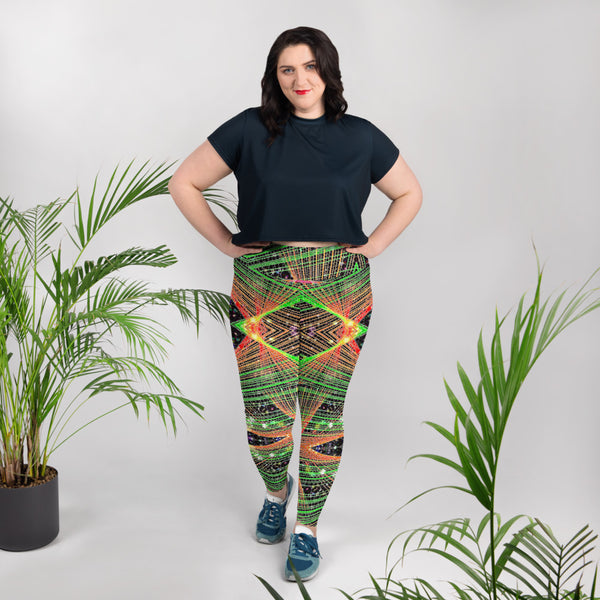 Strings and Things Plus Size Leggings Mexico 2020 - A Circus of Light