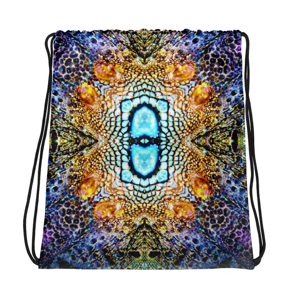 Iguana Drawstring bag - A Circus of Light