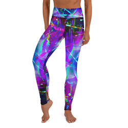 Three Wrong Turns Yoga Leggings - A Circus of Light