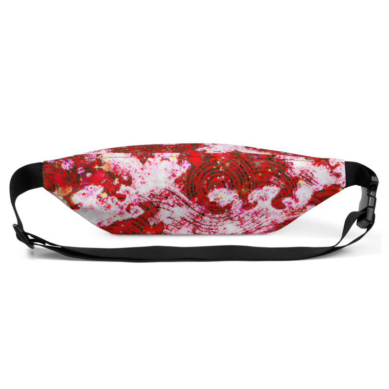 Ruby Waves Belt Bag - A Circus of Light