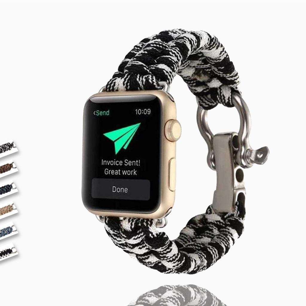 Watches Umbrella rope watch strap band for apple watch Series 1 2 3 4 5 6 iwatch 44mm/ 40mm/ 42mm/ 38mm bracelet for old customers - USA Fast Shipping