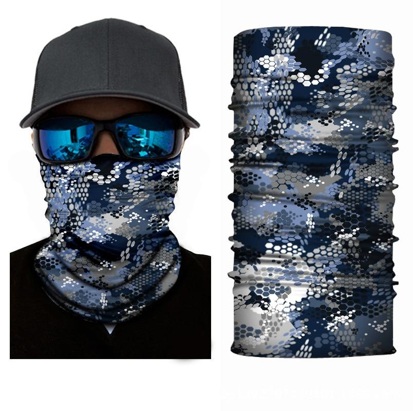 Scarves 3D Camouflage Skull Solid Bandana Buffs Neck Gaiter Headband Cycling Fishing Balaclava Mask Scarf Bandana Femme Outdoor