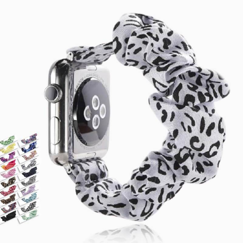 Home Sale! - Scrunchie Elastic Apple Watch stretch band,  iwatch 42mm 38 mm 44mm 40mm, Series 6 5 4 3
