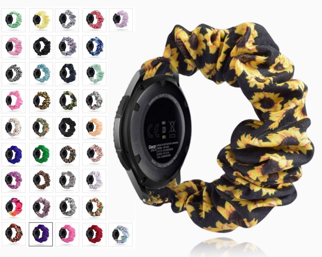 Home Elastic Watch Strap for samsung galaxy watch active 2 46mm 42mm huawei watch GT 2 strap gear s3 frontier amazfit bip strap 22 mm