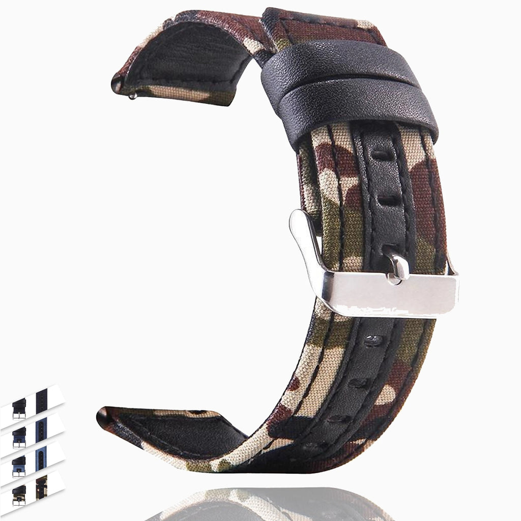 Watchbands watchband 20mm Nylon Adjustable Replacement Band Sport Strap For Samsung Galaxy watch 42mm montre bracelet reloj relogio clock|Watchbands|