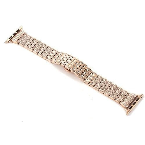Apple Apple Watch Band women pave sparkle bling Bracelet Watchband 40mm 44mm