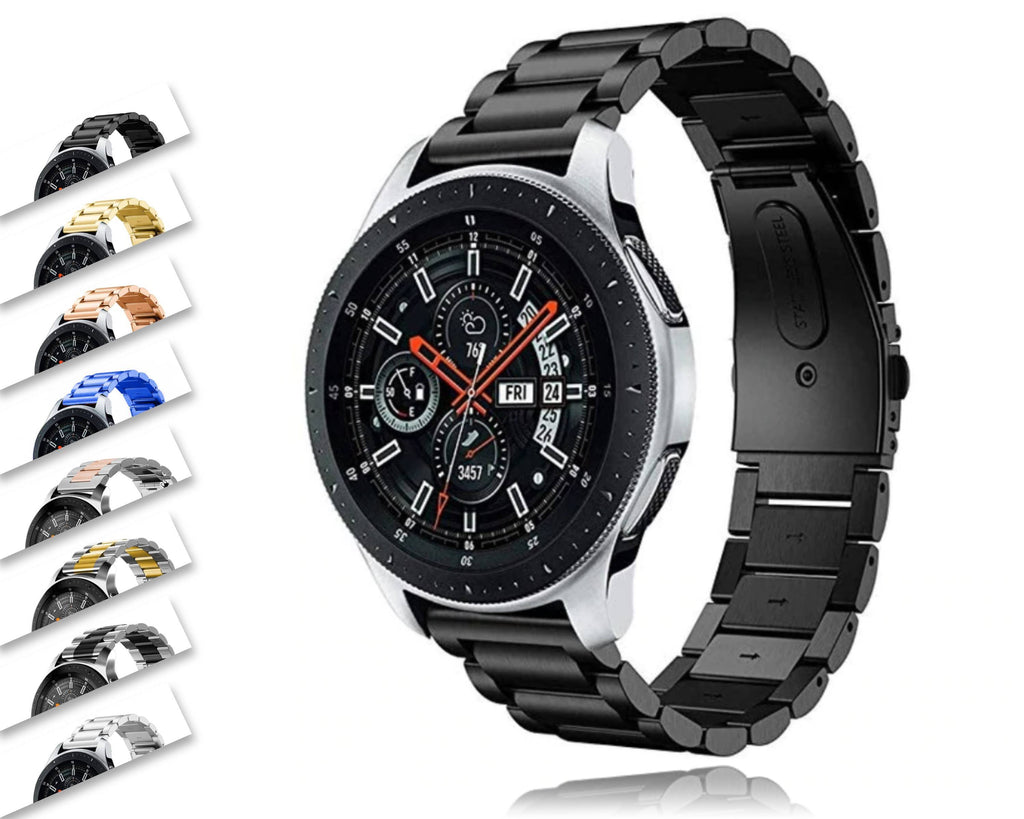 Watchbands Stainless steel Gear S3 Frontier strap For Samsung Galaxy watch 46mm/42mm/active 20mm 22mm Watch Band huawei gt amazfit bip|Watchbands|