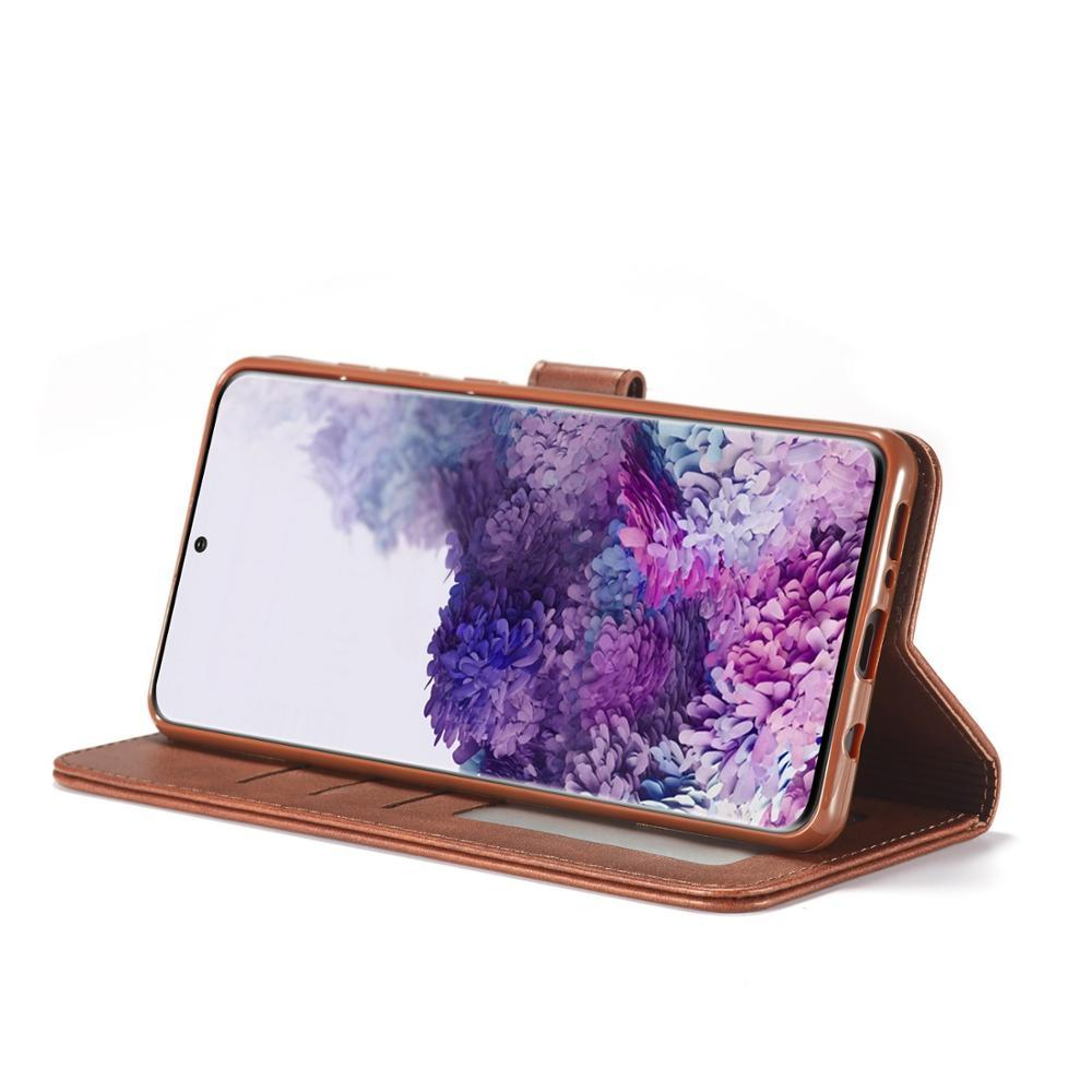 Flip Cases Leather Case for Samsung Galaxy Ultra A01 A21 A51 A71 A81 A91 A11 A41 A70E Luxury Magneti Card Holder Wallet Cover|Flip Cases|