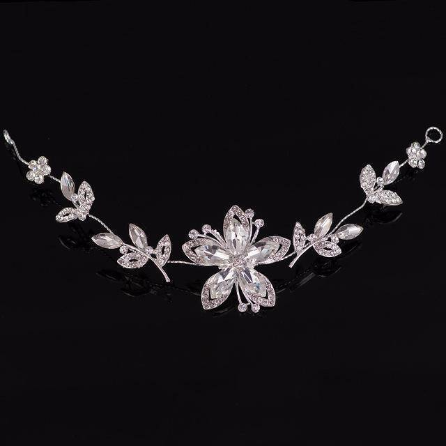 accessories 3163 Rhinestone Crystal crystal Hair Vine Tiara Crown headband, Good for Bridals, Prom, Princess, Pageant, Wedding Hair Accessories