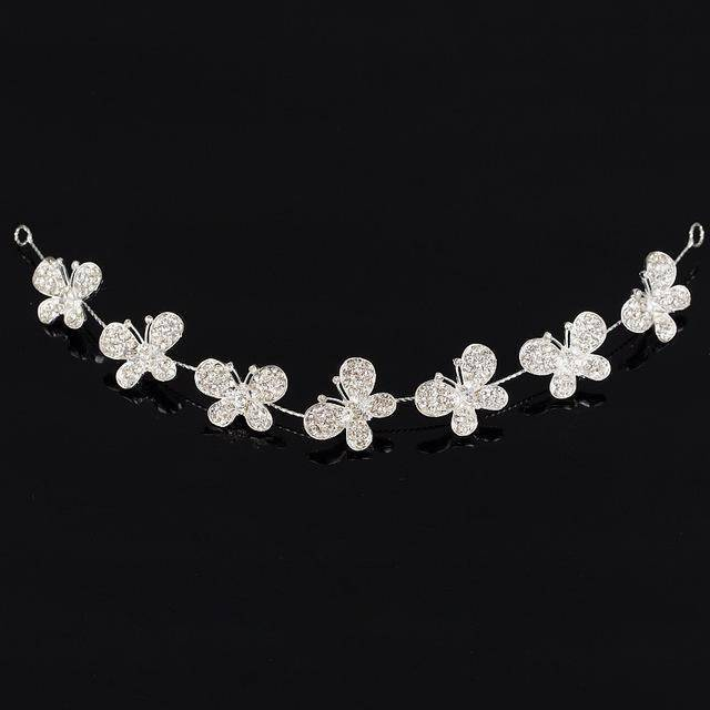 accessories 3169 Rhinestone Crystal crystal Hair Vine Tiara Crown headband, Good for Bridals, Prom, Princess, Pageant, Wedding Hair Accessories
