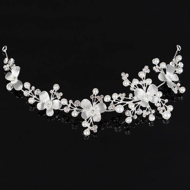 accessories 3178 Rhinestone Crystal crystal Hair Vine Tiara Crown headband, Good for Bridals, Prom, Princess, Pageant, Wedding Hair Accessories