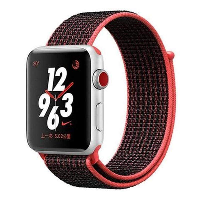 accessories Apple Watch band Nylon sport loop strap 44mm/ 40mm/ 42mm/ 38mm iWatch Series 1 2 3 4 bracelet hook-and-loop wrist watchband accessories - US fast shipping