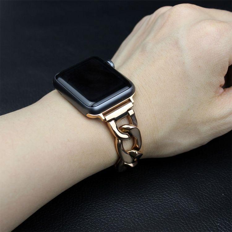 accessories Apple Watch Band Series 6 5 4 3 2, Metal Wrist Belt Replacement wristwatch Chain link Bracelet Strap  iWatch 38mm 40mm 42mm 44mm Watchbands