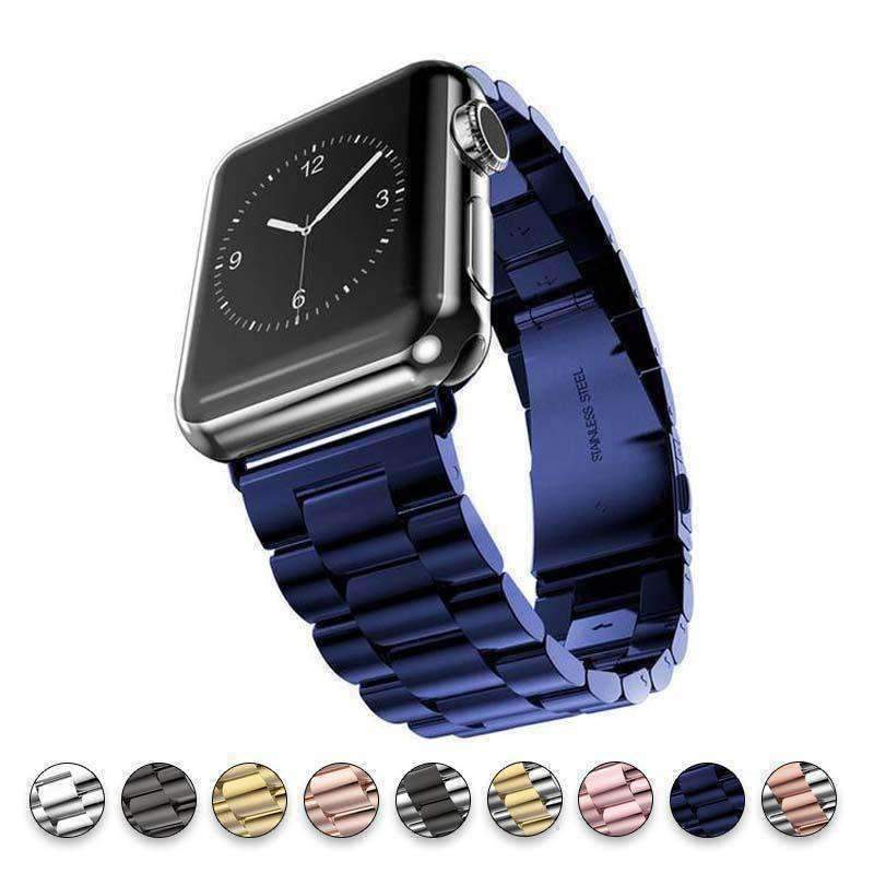 Accessories blue / 38mm/40mm Apple watch sport strand band, Link band, 44mm, 42mm, 40mm, 38mm, Series 1 2 3 4 Stainless Steel, US Fast shipping