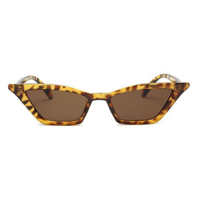 Accessories brown / with Sunglasses Bag Duplicate! Retro Vintage Sunglasses Women Cat Eye