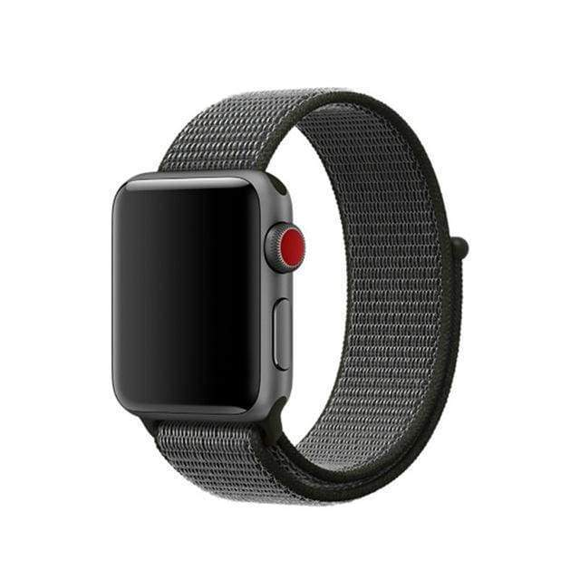 accessories Deep olive / 38mm/40mm Apple Watch band Nylon sport loop strap 44mm/ 40mm/ 42mm/ 38mm iWatch Series 1 2 3 4 bracelet hook-and-loop wrist watchband accessories - US fast shipping
