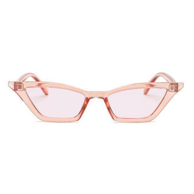 Accessories pink / with Sunglasses Bag Duplicate! Retro Vintage Sunglasses Women Cat Eye