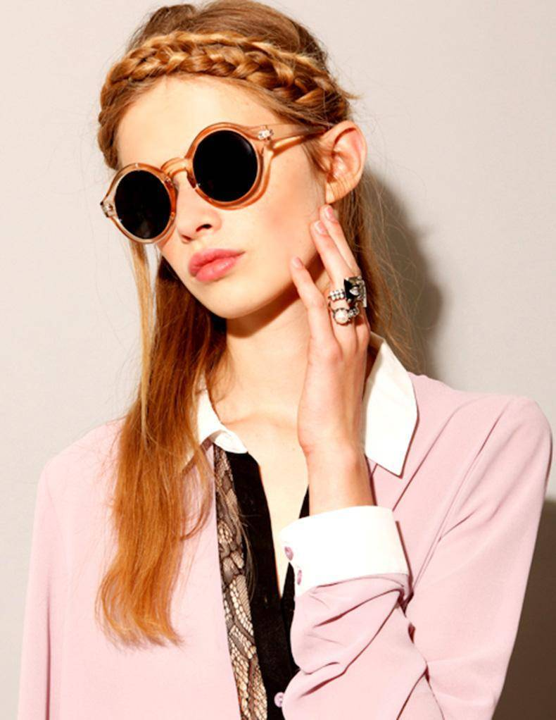 accessories Round Circle Sunglasses 7 colors