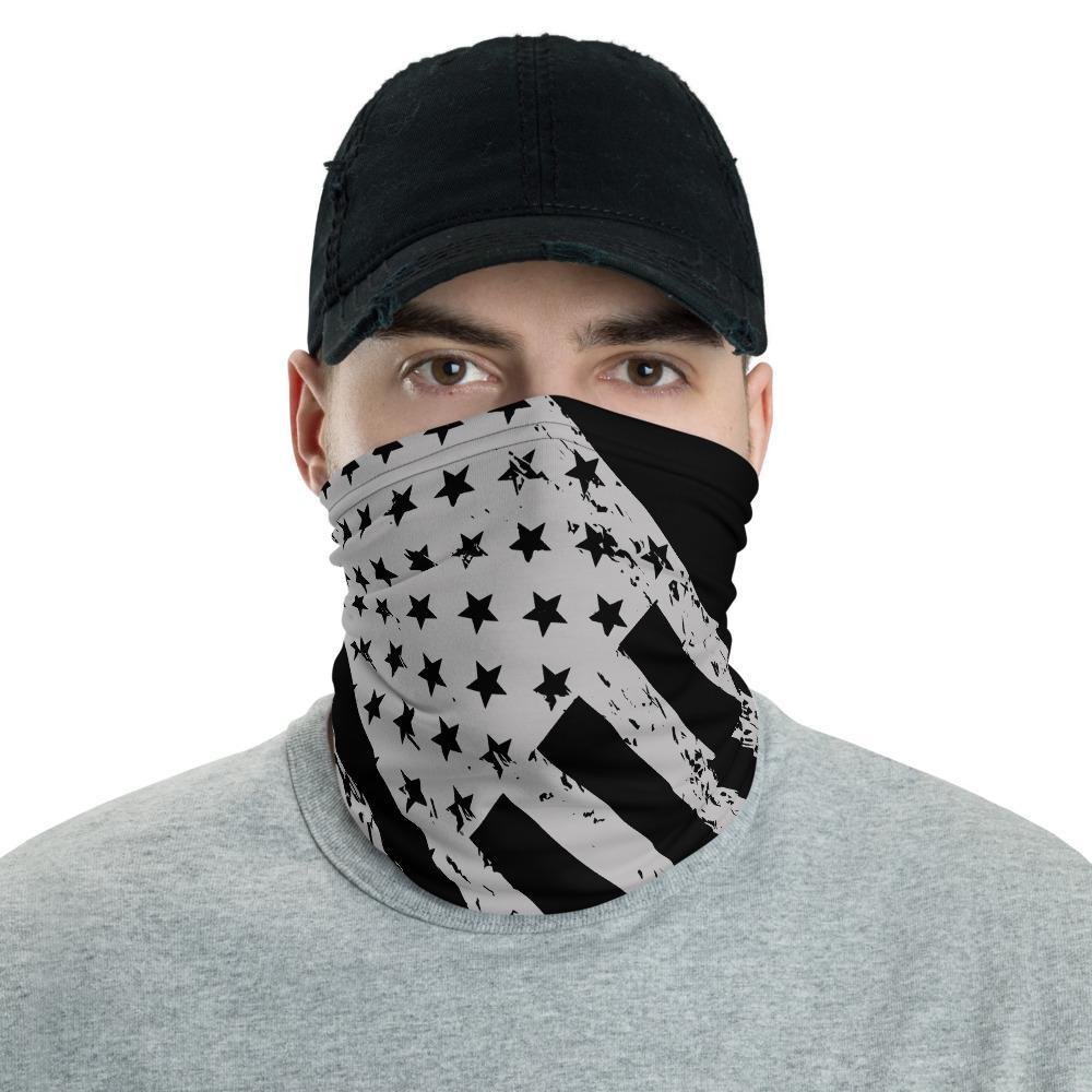 American Flag Multi Functional Face Mask, Unisex Neck Gator, Balaclava Beanie Wristband Hairband Hood Head wear Bandanna - US Fast Shipping