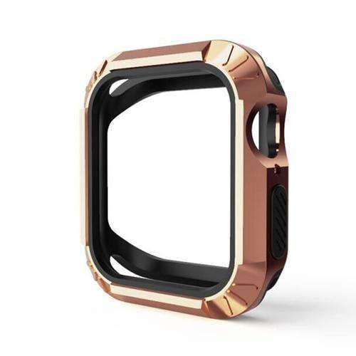 Apple 3 / for 44mm Silicone Protector Cover For Apple Watch 4 case 40MM 44MM iwatch band series 4 Replacement Two in one Anti-fall Shell - USA Fast Shipping