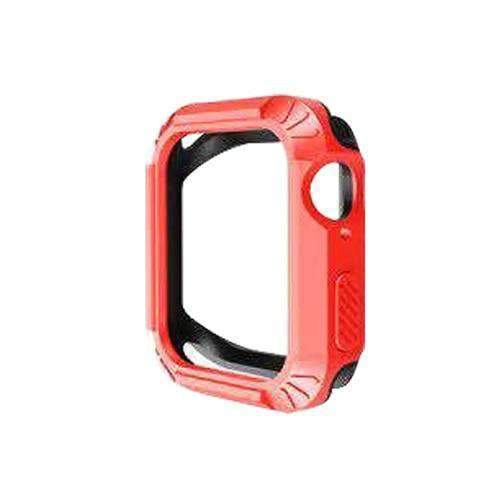 Apple 7 / for 44mm Silicone Protector Cover For Apple Watch 4 case 40MM 44MM iwatch band series 4 Replacement Two in one Anti-fall Shell - USA Fast Shipping