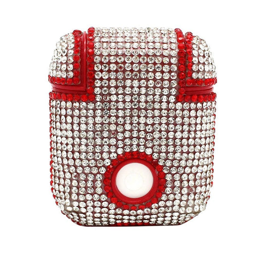 Japanese Style Pouch Case bag wallet for earphones cards car key jewellery red