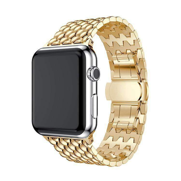 Apple Apple Watch Series 5 4 3 2 Band, Business Professional Style, Stainless Steel Strap Watch Band 40mm 44mm 38mm 42mm