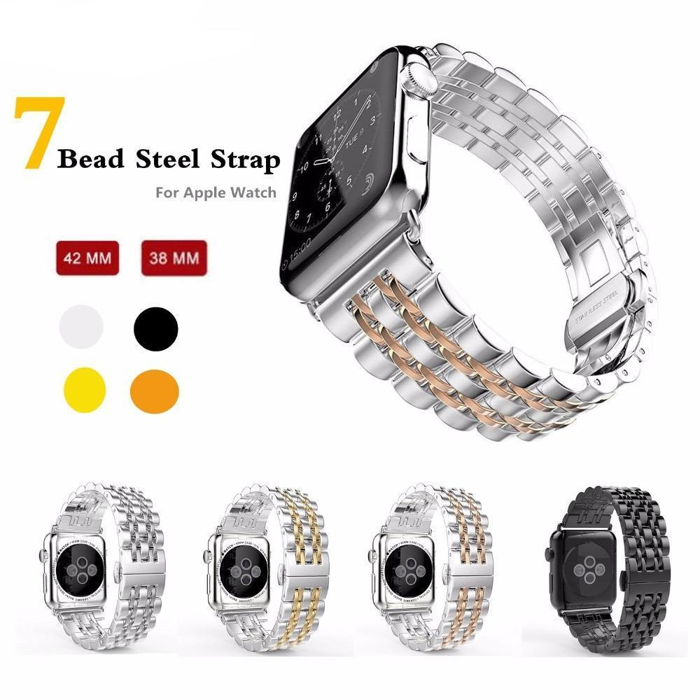 Apple Apple Watch Series 5 4 3 2 Band, Luxury metal Stainless Steel rolex Strap Bracelet Wrist Belt for iWatch 38mm, 40mm, 42mm, 44mm US Fast Shipping