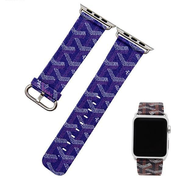 Apple Apple Watch Series 5 4 3 2 Band, Strap Leather Watchband Accessories fits 38mm, 40mm, 42mm, 44mm - US Fast Shipping