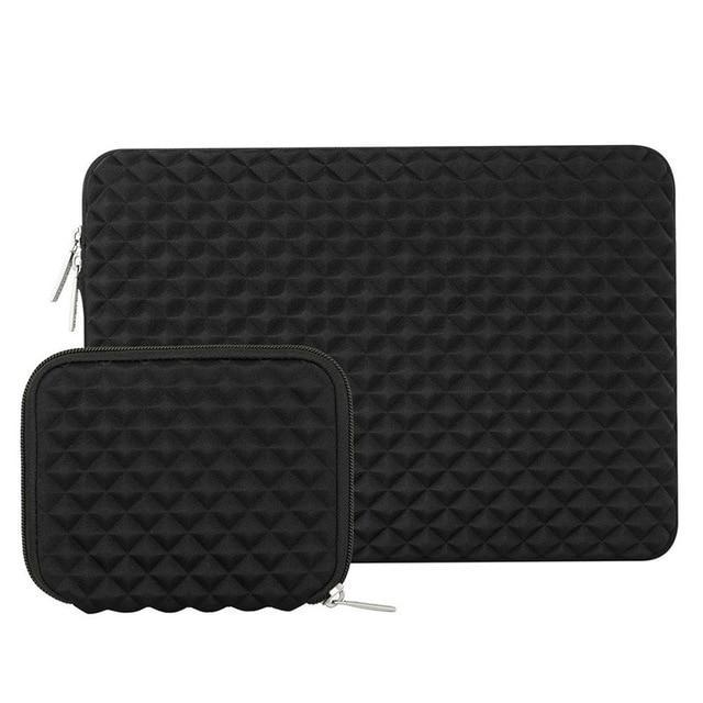Apple Black / 13-13.3 inch Lycra Soft Laptop Sleeve 13.3 inch Laptop Bag Case for Macbook Air 13 New Touch Bar Retina Pro 13'' HP/Dell Notebook Bags