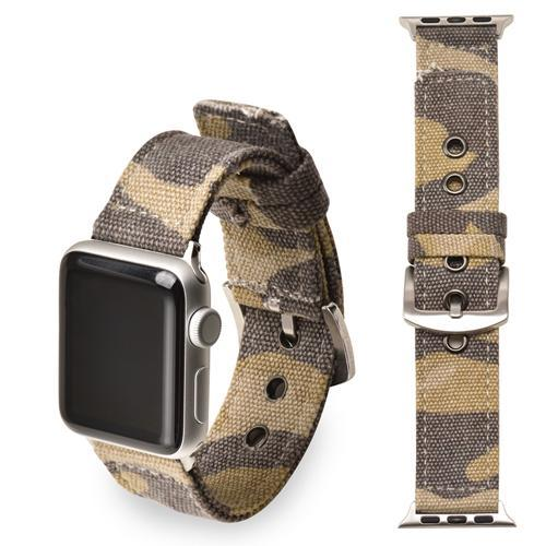 Apple brown  Silver buckle / 38mm/40mm Sport Nylon strap for apple watch 4 44mm 40mm iwatch band 42 mm 38mm watchband  bracelet apple watch 3 2 1 Accessories US Fast Shipping