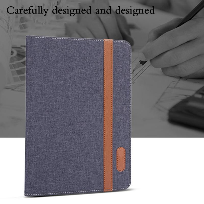 "Apple Case For Apple iPad 9.7 2017 2018 5th 6th Generation Cover For iPad air 1 air 2 Pro 9.7 "" Funda Tablet Canvas PU Leather Shell"