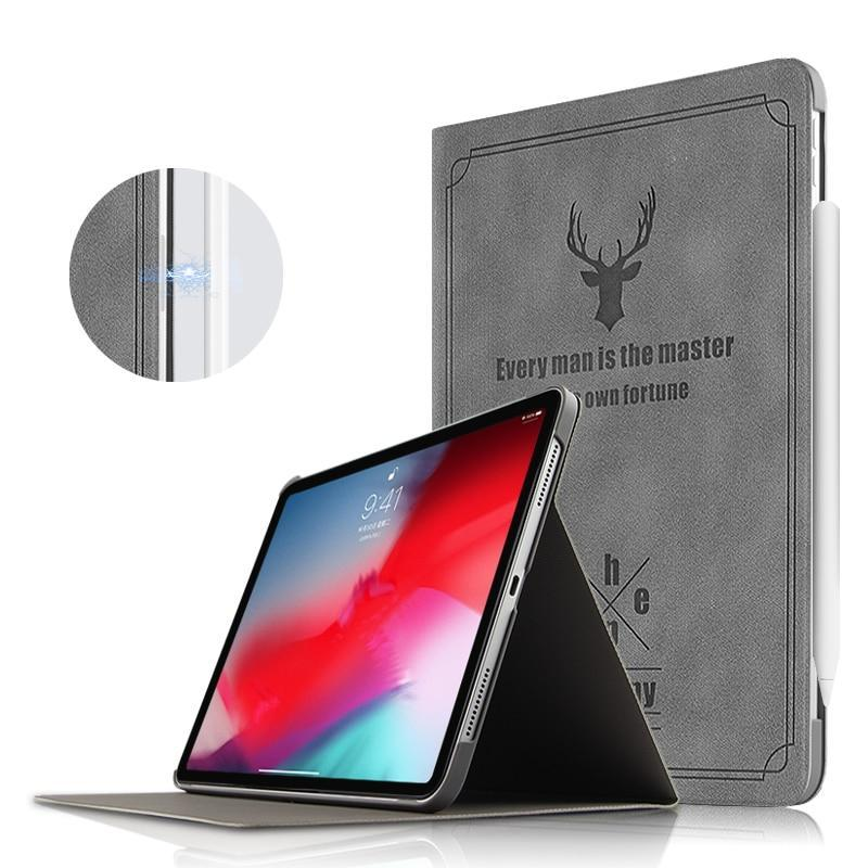 "Apple Case For iPad Pro 11 2018 Protective Cover Leather Smart Case For Apple new ipad pro11 iPad 11""Tablet With Auto Sleep/Wake Up"