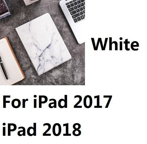 Apple For iPad2017 2018 W Hard Marble Pattern PC Material Support Protective Cover Case For iPad Air 1 2 Mini 1234 iPad 234 iPad 2017 2018 9.7inch
