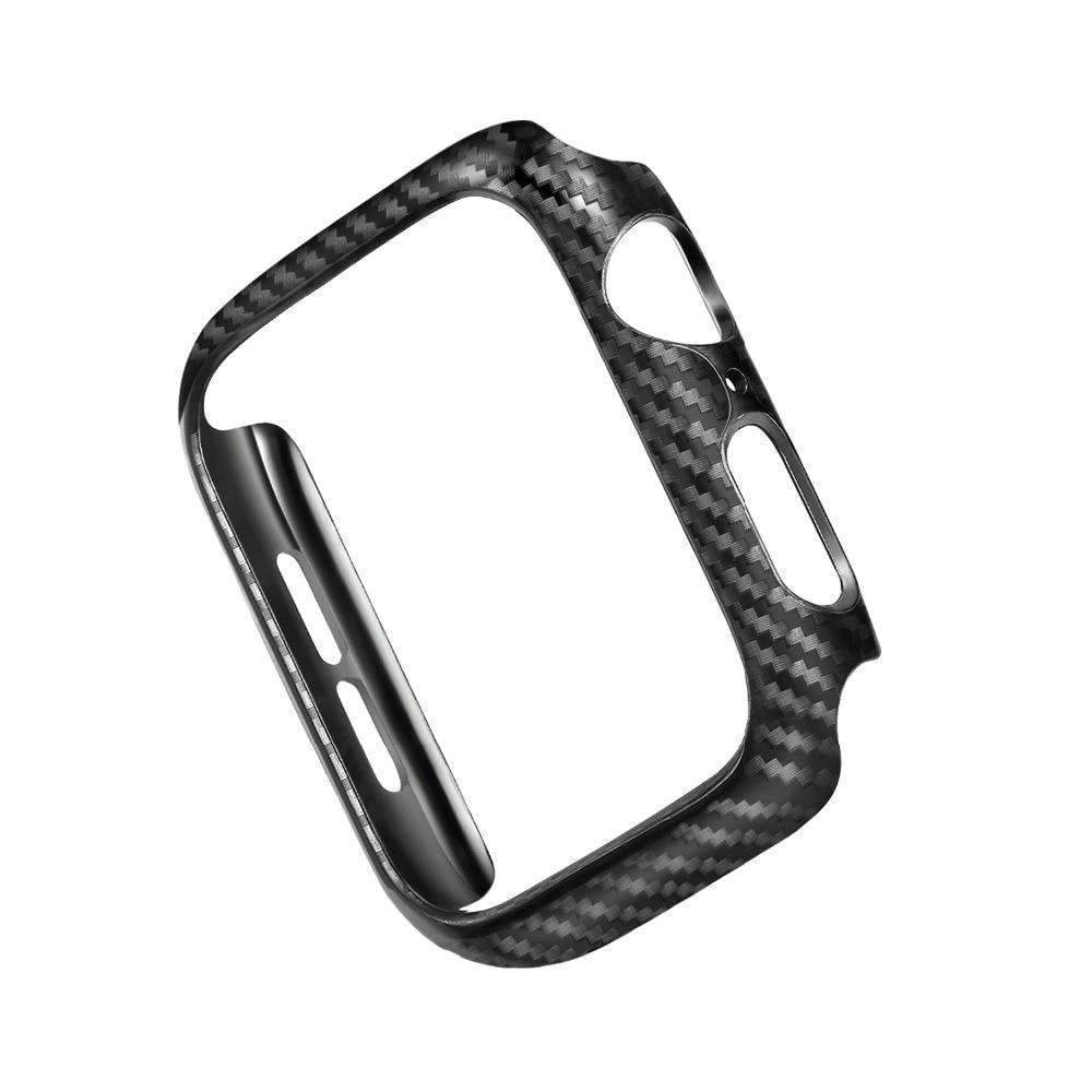 Apple Frame Carbon Protective Case For Apple Watch 4 bands 42mm 44mm 38mm 40mm watch covers Bumper for iwatch series 3 2 1 Accessories - USA Fast Shipping