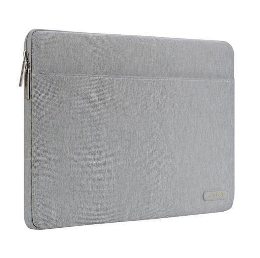 Apple Gray / 11 inch Soft Laptop Sleeve Bag for Macbook Dell HP Asus Acer Lenovo Surface Notebook Air/Pro 11 13 13.3 14 15 inch Canvas Cover