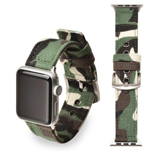 Apple green  Silver buckle / 38mm/40mm Sport Nylon strap for apple watch 4 44mm 40mm iwatch band 42 mm 38mm watchband  bracelet apple watch 3 2 1 Accessories US Fast Shipping