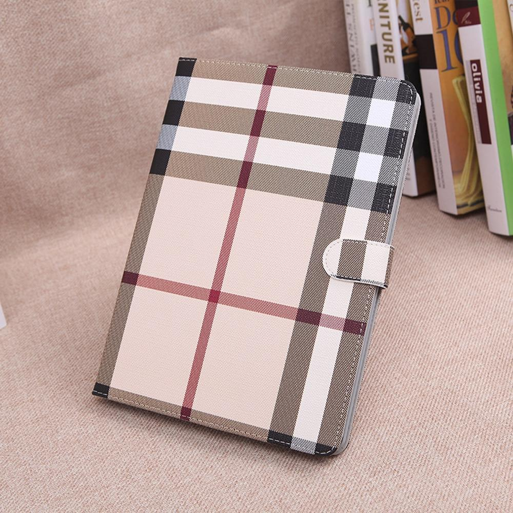 Apple Grid Cases For iPad Pro 9.7 Air 2 Air 1 Mini 1 2 3 4 Pro 10.5 2017 New iPad 2018 iPad 2 3 4 A1822 A1823 A1893 Shell Covers ST12