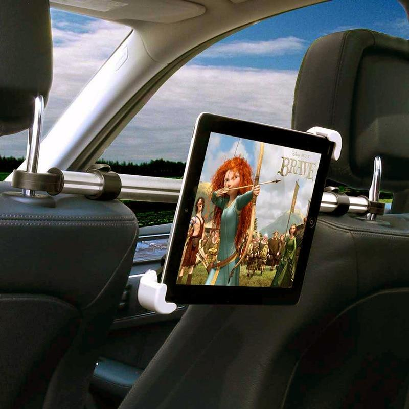 Apple Holder For Tablet PC Auto Car Back Seat Headrest Mounting Holder Tablet Universal For 7-11 Inch For Ipad Xiaomi Samsung