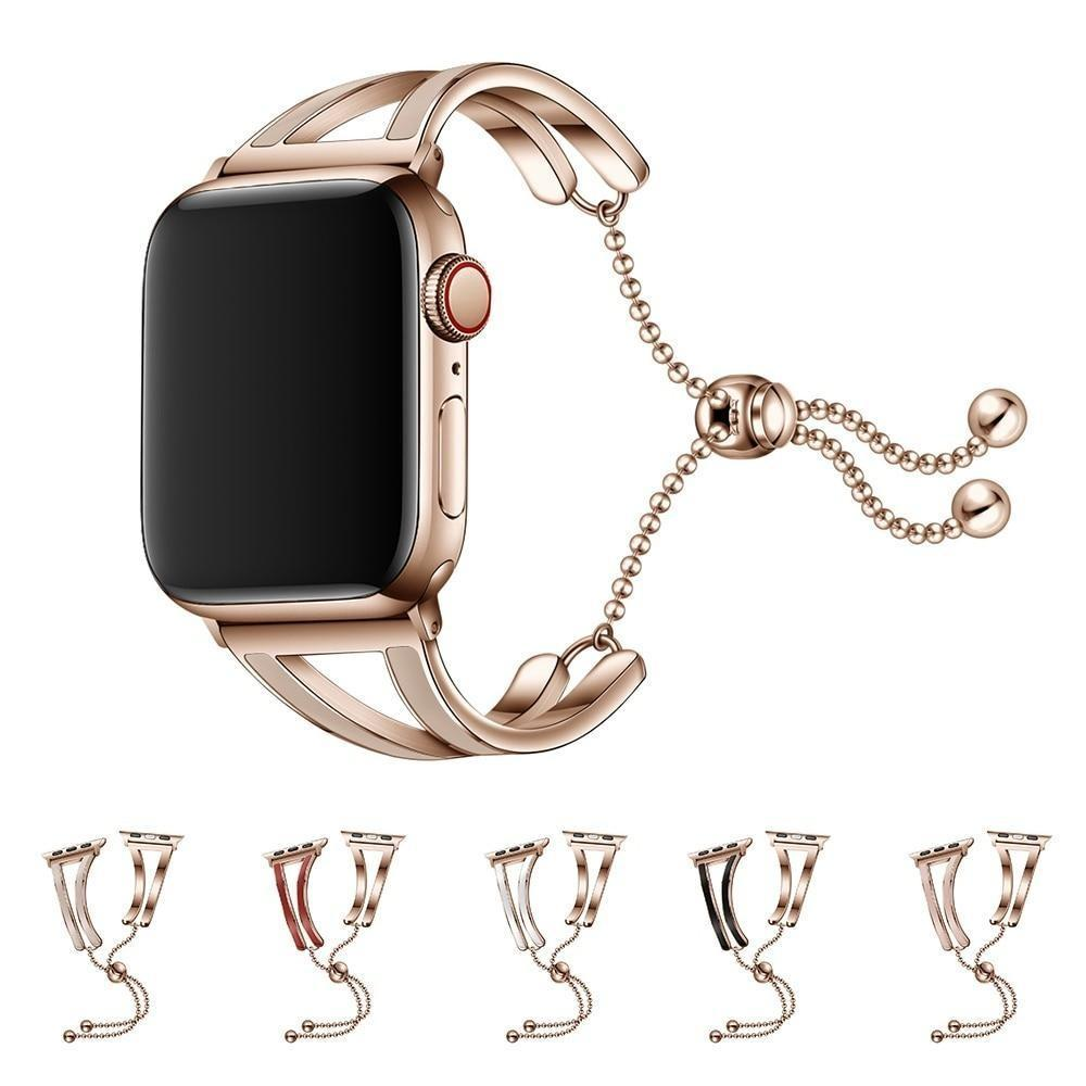 Apple Jewelry strap for Apple watch band 38mm 42mm iWatch band 44mm 40mm Stainless steel watchband bracelet Apple watch 5 4 3 2 1 38/40