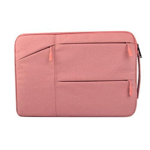 Apple Pink / 12 inch Laptop Bag For Macbook Air Pro Retina 11 12 13 14 15 15.6 inch Laptop Sleeve Case PC Tablet Case Cover for Xiaomi Air HP Dell