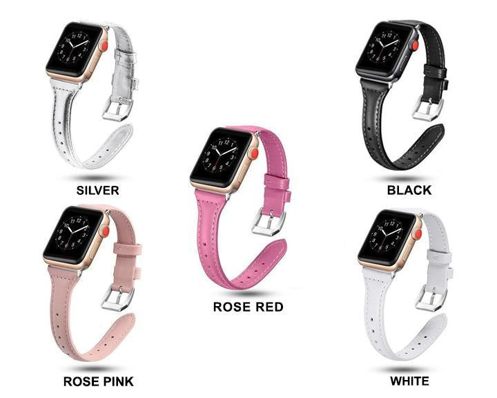 Apple Pulseira strap For apple watch band iwatch 4 3 42mm 38mm 44mm 40mm correa for apple watch band leather Bracelet Accessories, USA Fast Shipping