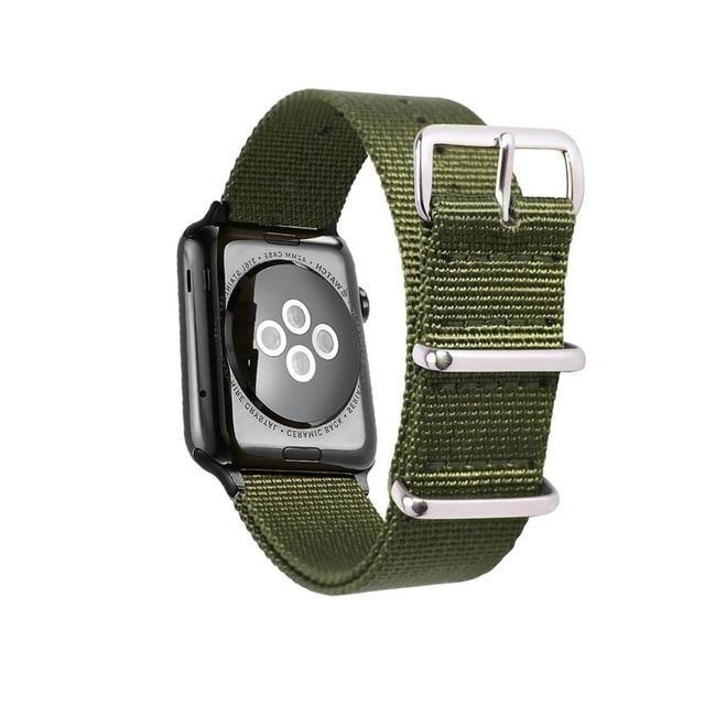 Apple Woven Nylon Band Watchband For Apple Watch 3 42mm 38mm fabric-like strap iwatch 3/2/1 wrist band nylon watchband belt