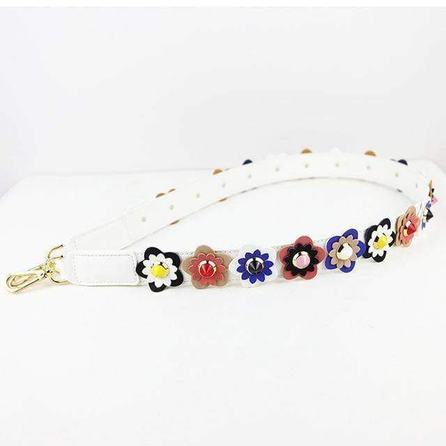 Bag Accessories 1 Colorful Flower Rivet Shoulder Strap